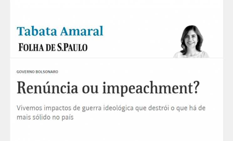 Renúncia ou impeachment?